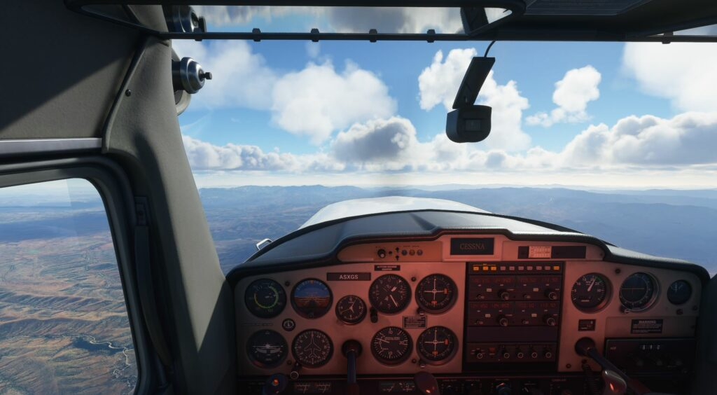 Flight simulation in 2020, as NFT are invented